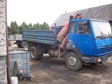 1990 STEYR 19S24 dump truck