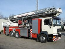 2000 MAN Bronto skylift 32 mtr