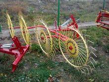 AGROMECH wheel hay rake