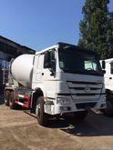 2017 HOWO concrete mixer truck