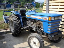 ISEKI TS 3110 mini tractor