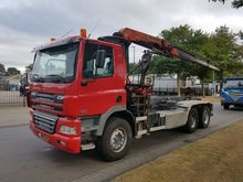 2002 DAF 6x4 met cable system t