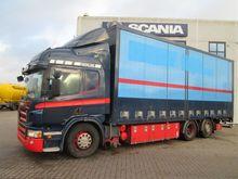 2009 SCANIA P420 closed box tru