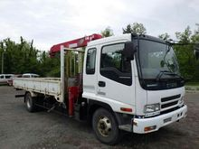 2005 ISUZU Forward flatbed truc
