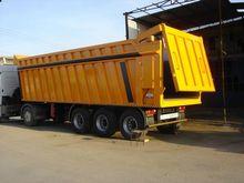 2016 dumper trailer tipper semi