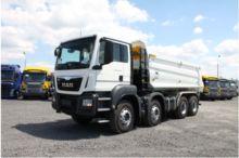 2017 MAN TGS 41.400 dump truck