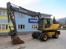 2004 VOLVO EW180B wheel excavat