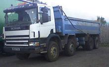 2004 SCANIA 380 dump truck