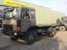 1986 MAN 12.192 platform truck