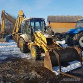 2000 HOLLAND NH95 backhoe loade