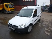2008 VAUXHALL COMBO 2000 closed