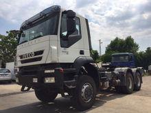 2010 IVECO trakker 450-6x6 trac