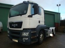Used MAN TGS tractor