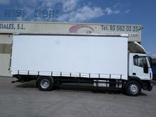 2008 IVECO 180.25 truck curtain