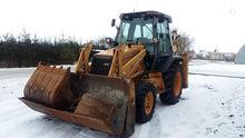 1998 CASE 580sle, excavator loa