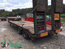 DEMICO low bed semi-trailer by