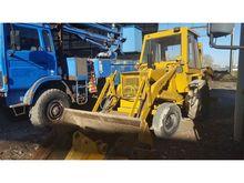 CASE 580 backhoe loader