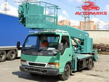 1994 ISUZU ELF bucket truck