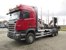 2011 SCANIA R440, timber trucks