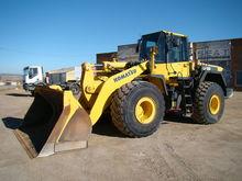 2010 KOMATSU WA 480-6 wheel loa