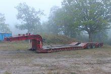 1984 LOHR Hafo Low loader semi-