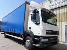 2009 DAF 55250 truck curtainsid