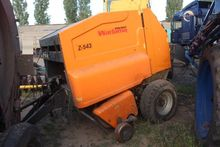 2008 CLAAS Rollant 62 round bal