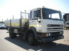 1991 DAF 1700 dump truck
