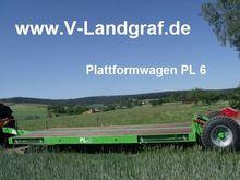 2016 UNIA PL 6 low loader trail
