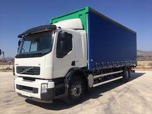 VOLVO truck curtainsider