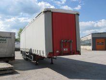 2000 Tranders tilt semi-trailer