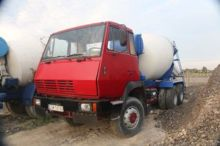 STEYR concrete mixer truck