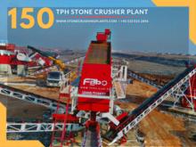 2017 FABO 150 TPH STONE CRUSHER