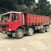 1995 VOLVO FL 320 8x4 dumper rv