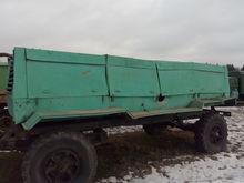 1989 MAZ 8925 flatbed trailer