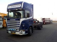 2001 SCANIA chassis truck