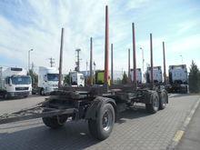 2012 TRAILIS D665 timber traile