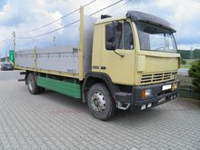 1987 STEYR 14S21 flatbed truck