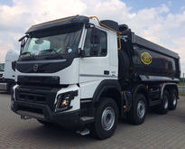 Used 2016 dump truck