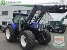 2011 HOLLAND T 7030 wheel tract