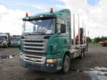 2005 SCANIA R500, timber trucks