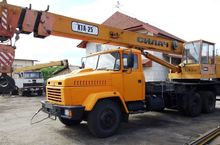 2006 KTA 25 on chassis KRAZ 650