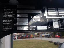 2003 LINDE Reach Truck reach tr