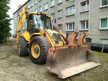 2004 HOLLAND LB115 backhoe load