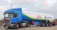 Everlast LPG gas truck