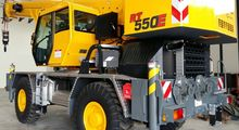 2015 GROVE RT 550 mobile crane