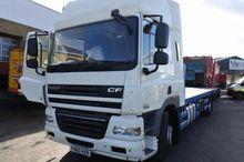 2010 DAF CF platform truck