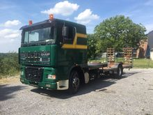 1997 DAF 95 XF timber truck