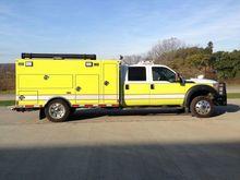 2015 FORD F-550 fire truck