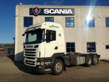 2012 SCANIA R 500 LBHNB chassis